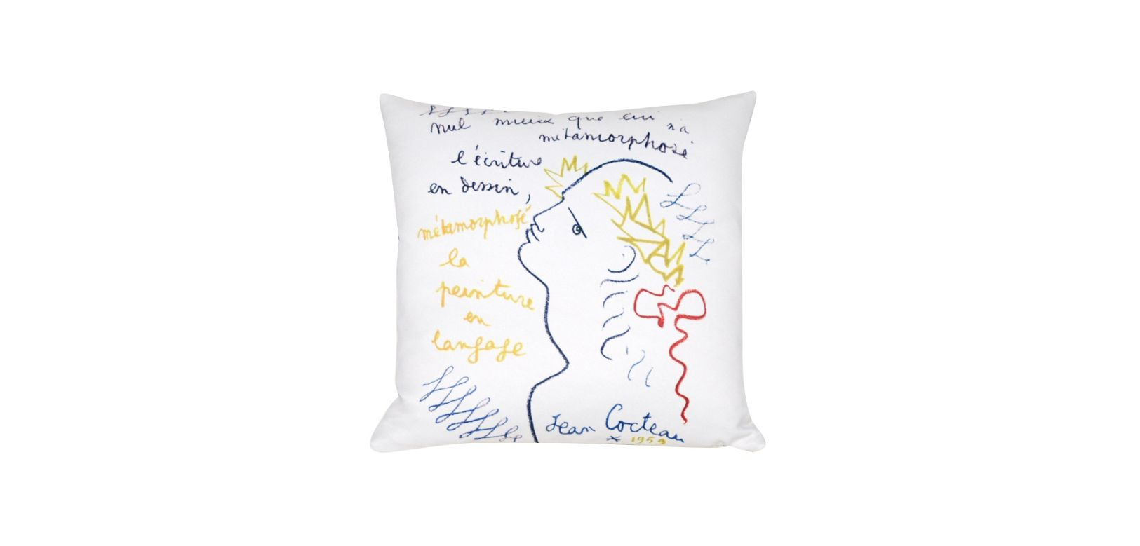 metamorphose jean cocteau cushion roche bobois. Black Bedroom Furniture Sets. Home Design Ideas