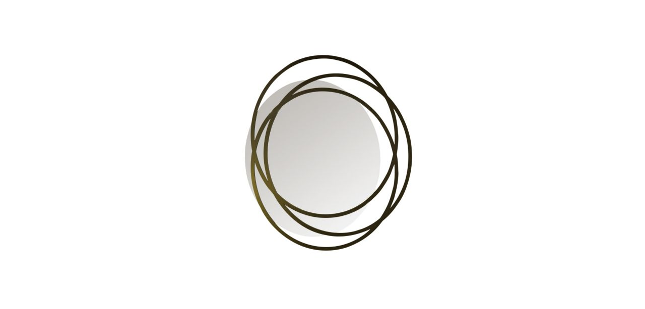 Mandala spiegel roche bobois for Miroir design roche bobois