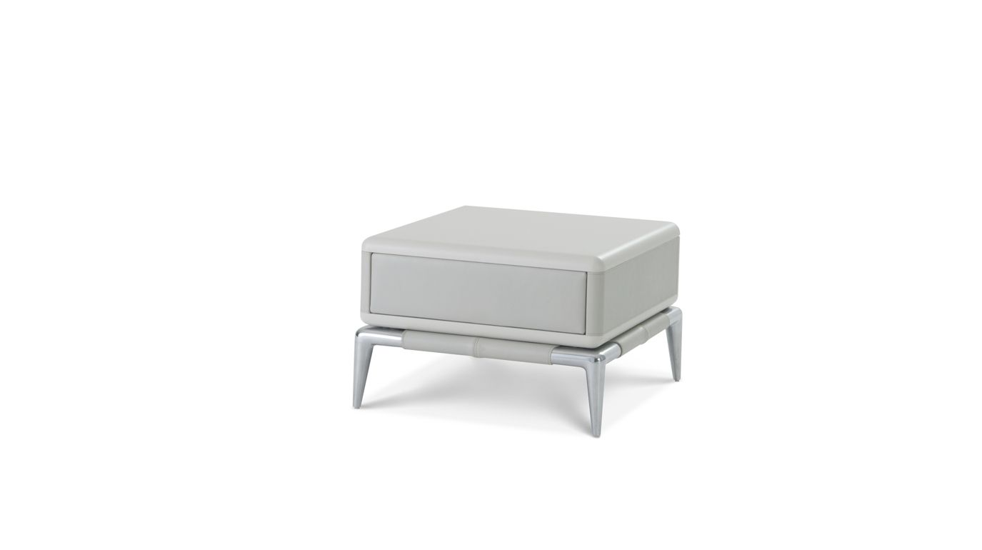 Ellica bedside table roche bobois for Table basse ovni roche bobois