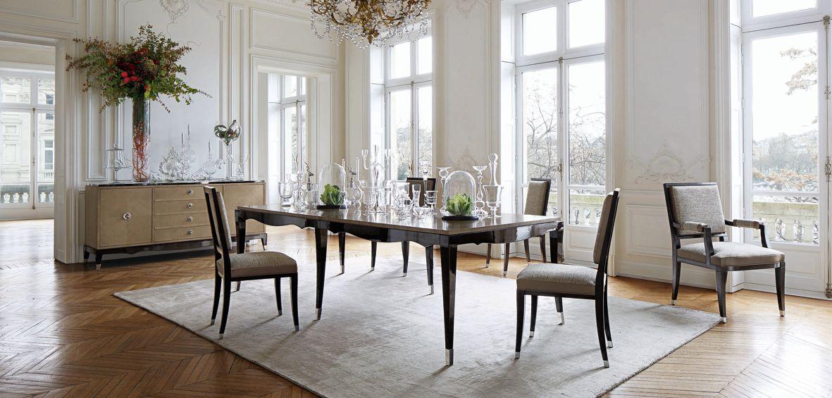 Grand hotel chair nouveaux classiques collection roche bobois - Collection roche bobois ...