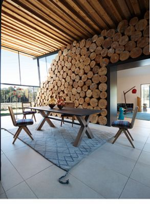 expression dining table (nouveaux classiques collection) - roche