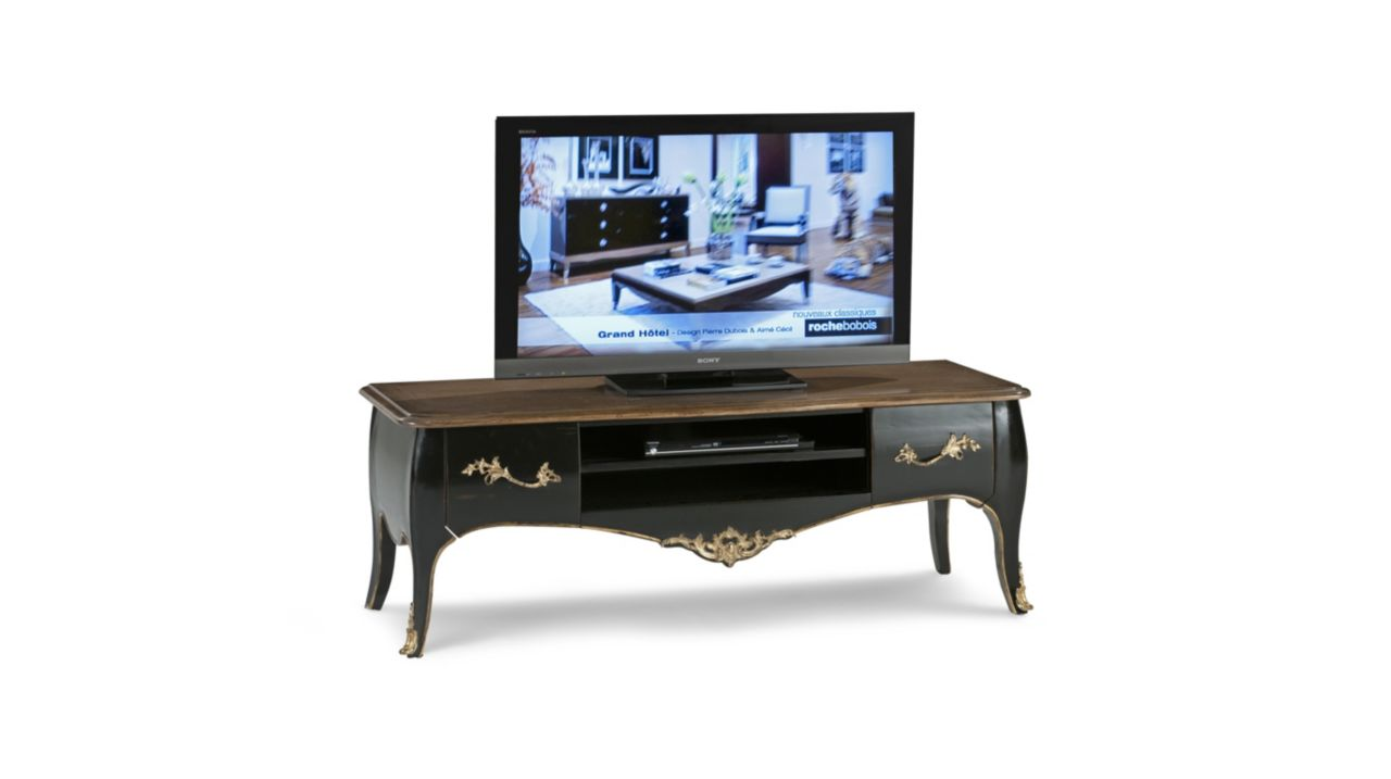 volutes meuble tv collection nouveaux classiques roche bobois. Black Bedroom Furniture Sets. Home Design Ideas
