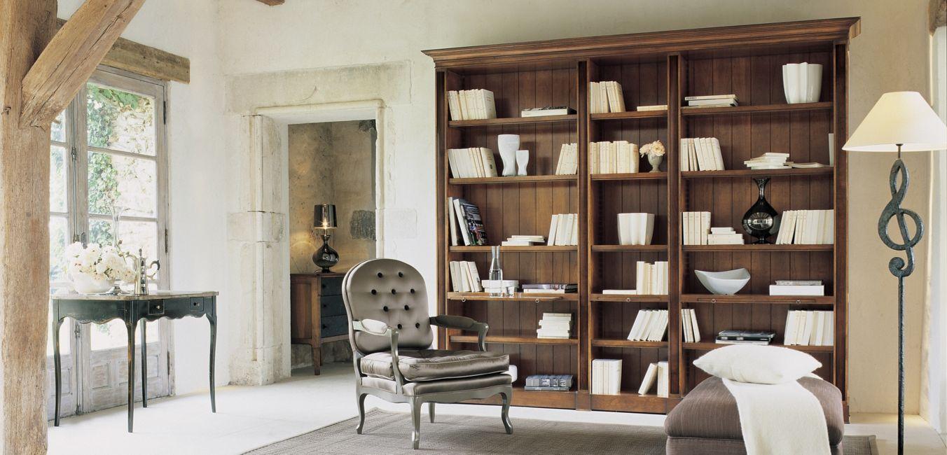 bibliotheque hauteville collection nouveaux classiques roche bobois. Black Bedroom Furniture Sets. Home Design Ideas