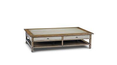 table basse architecte (collection nouveaux classiques) - roche bobois