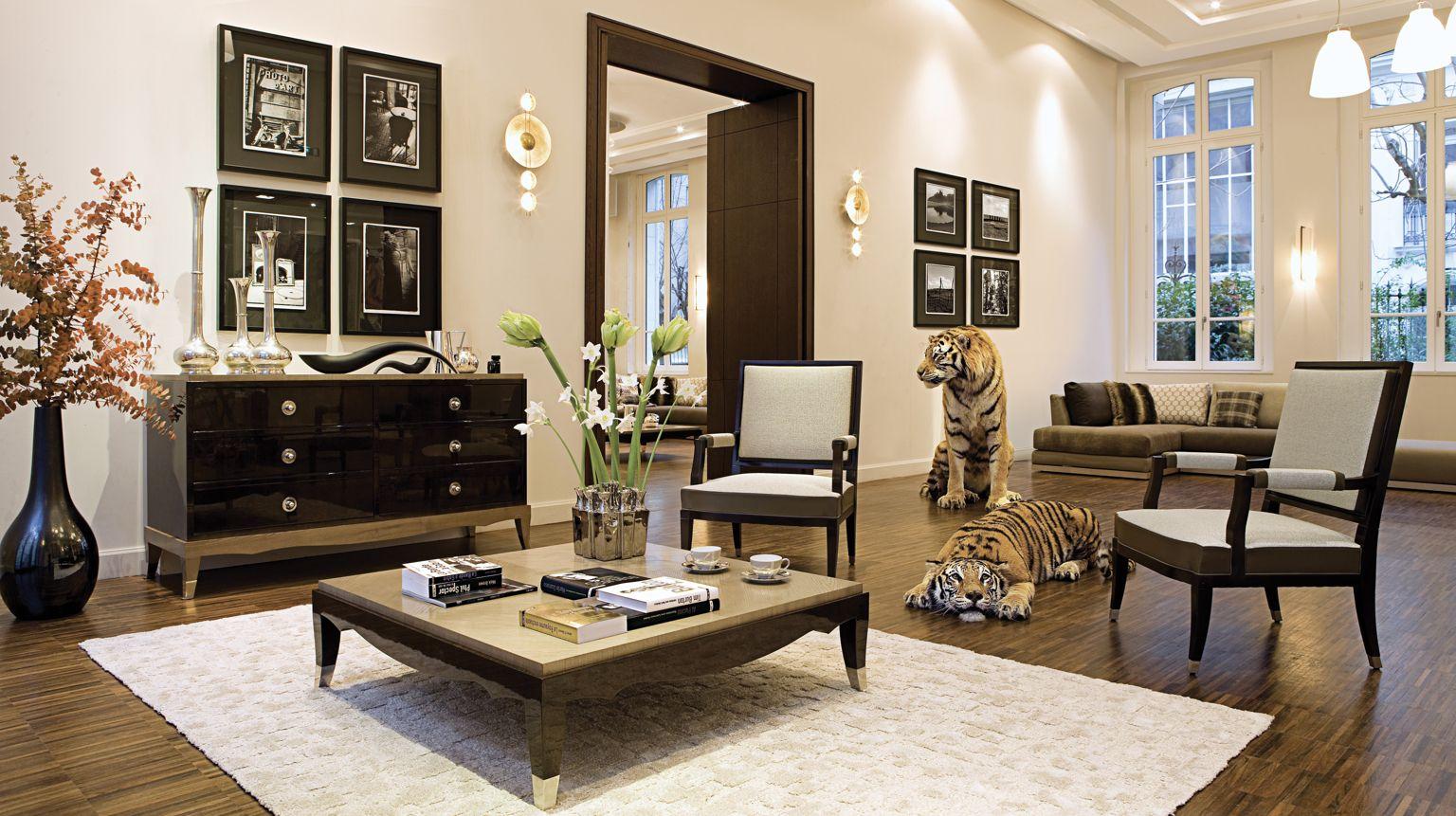 Table Basse Grand Salon grand hotel bed | roche bobois