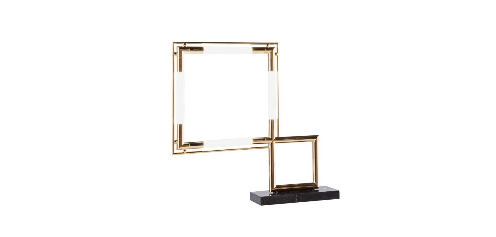 quadro table lamp roche bobois. Black Bedroom Furniture Sets. Home Design Ideas