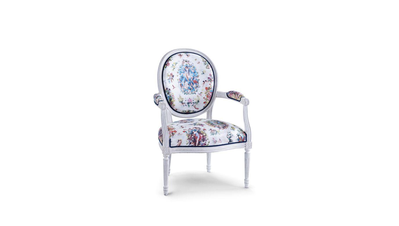 fauteuil florian jean paul gaultier collection nouveaux. Black Bedroom Furniture Sets. Home Design Ideas