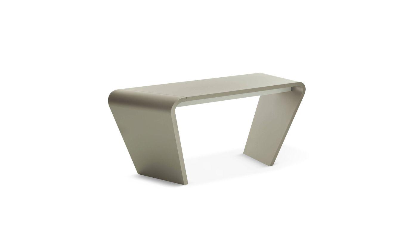 Openspace small desk roche bobois - Petit bureau bois ...