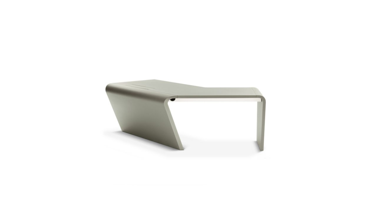 Openspace large desk roche bobois for Meuble bureau roche bobois