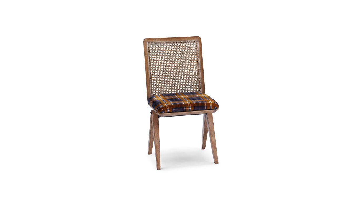 Armand sedia schienale in paglia di vienna collezione for Sedia design paglia di vienna