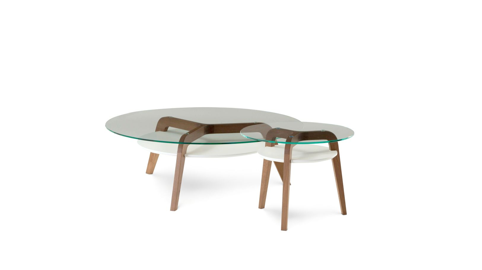 Flying glass occasional table roche bobois - Table ovale marbre roche bobois ...