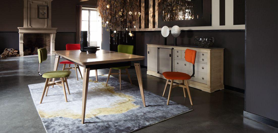Armand table de repas collection nouveaux classiques - Table repas roche bobois ...