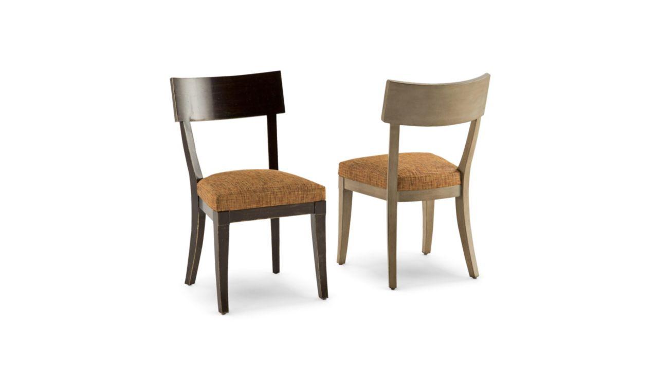 Atrium chaise en chene nouveaux classiques collection roche bobois - Roche bobois chaises ...