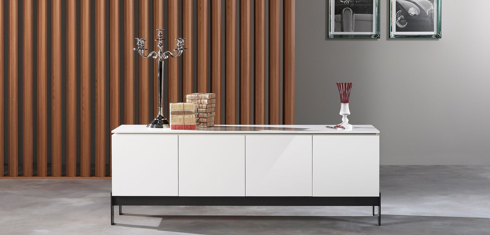Coda sideboard roche bobois - Buffet contemporain roche bobois ...