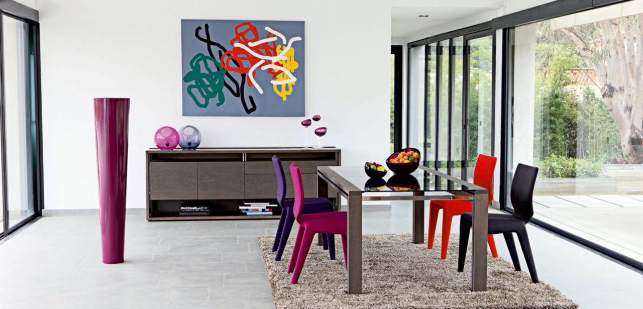 Glassbox dining table roche bobois - Roche bobois contemporain ...
