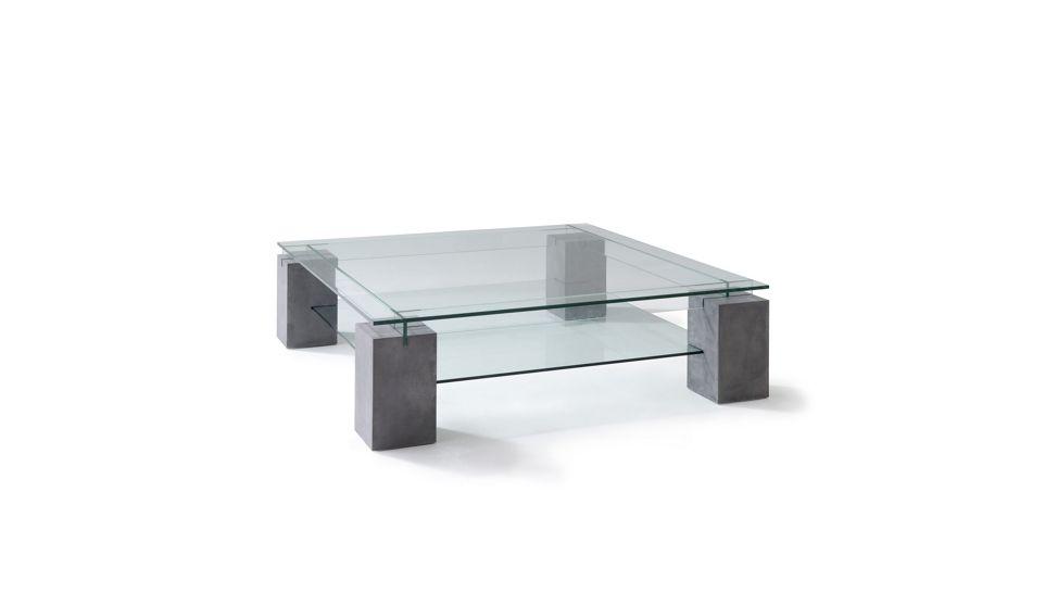 Tenere Cocktail Table Concrete Patina Roche Bobois