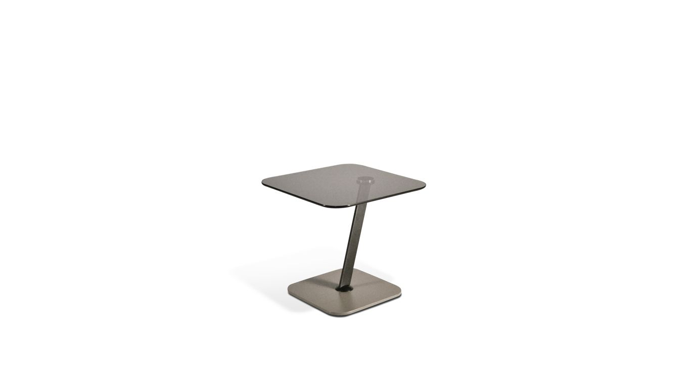 Time lamp ceramique end table roche bobois for Table ardoise roche bobois