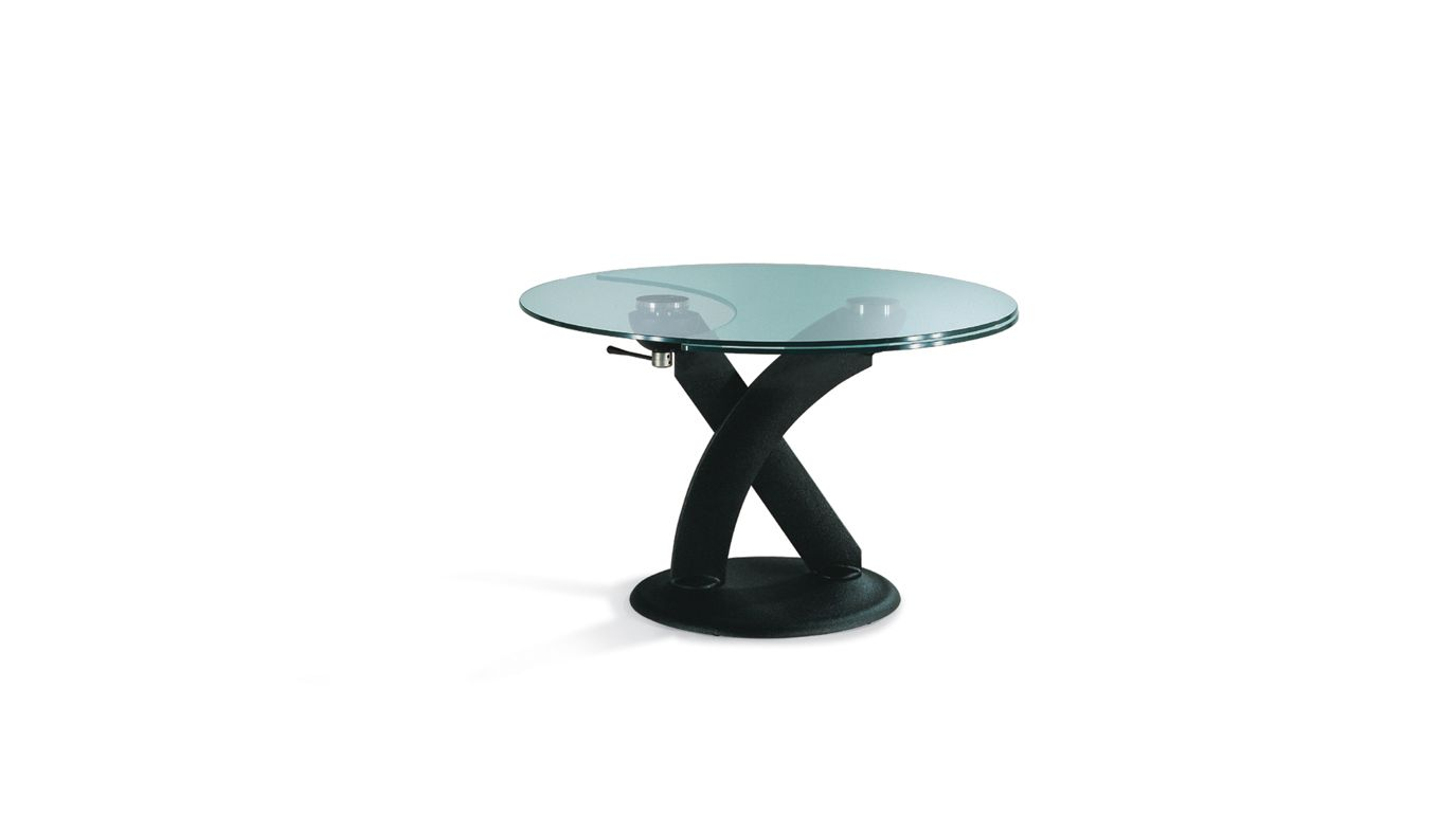 banzai table de repas ronde roche bobois. Black Bedroom Furniture Sets. Home Design Ideas
