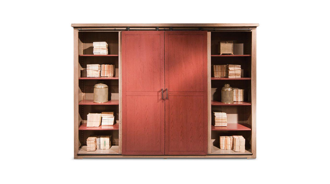 Meuble tv maxime collection nouveaux classiques roche - Meuble bibliotheque roche bobois ...