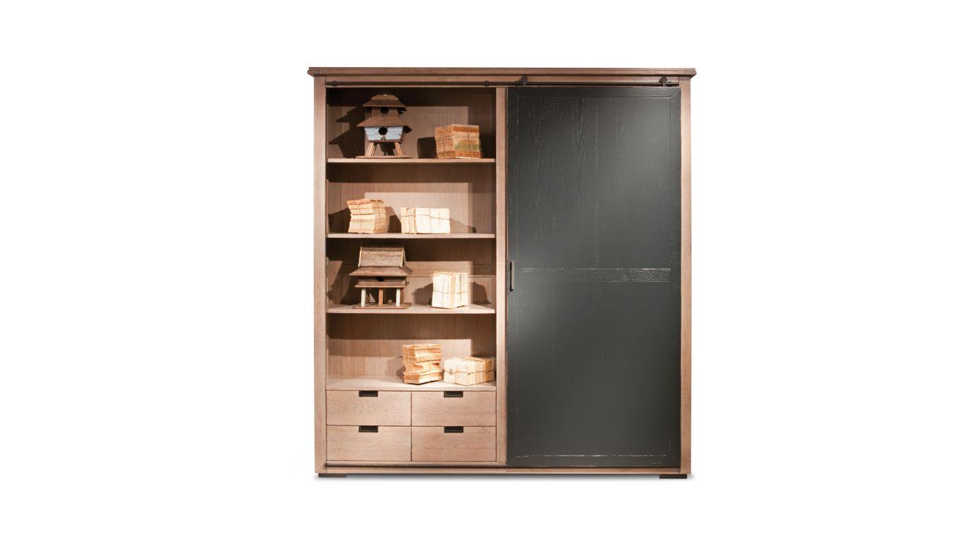 maxime bookcase nouveaux classiques collection roche. Black Bedroom Furniture Sets. Home Design Ideas