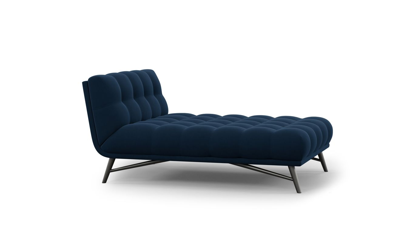 chaise longue profile collection nouveaux classiques roche bobois. Black Bedroom Furniture Sets. Home Design Ideas