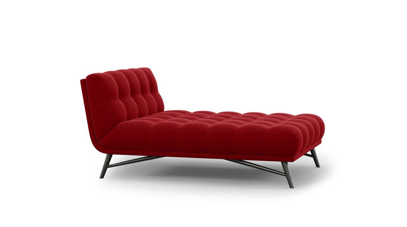 Profile bed nouveaux classiques collection roche bobois for Chaise longue bois exotique