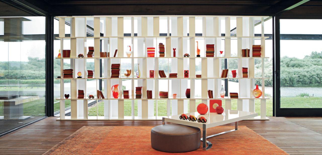 flap biblioth que roche bobois. Black Bedroom Furniture Sets. Home Design Ideas
