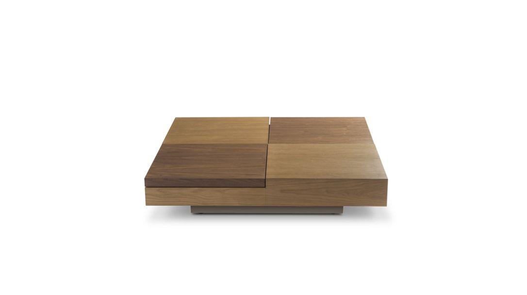 podium table basse bois roche bobois. Black Bedroom Furniture Sets. Home Design Ideas