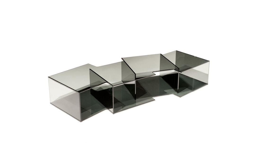 Offset bookcase roche bobois - La roche bobois table ...