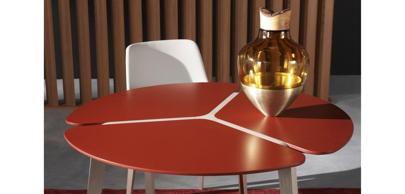 Flying flower dining table roche bobois - Table basse verre roche bobois ...