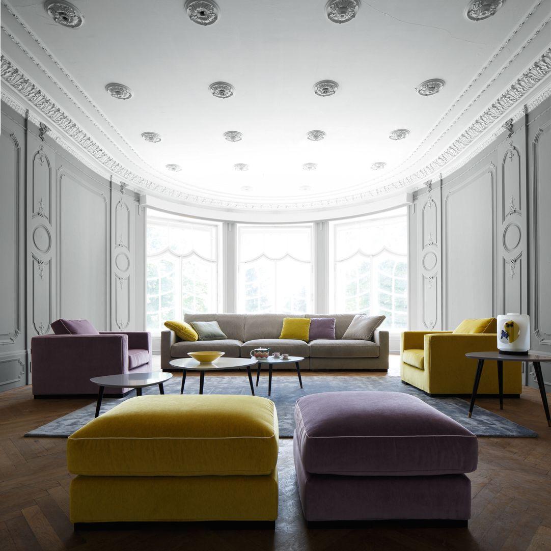 Surprising Long Island 2 Modular Sofa Nouveaux Classiques Collection Interior Design Ideas Clesiryabchikinfo