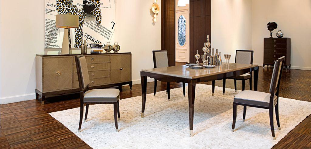 TABLE DE REPAS RECTANGULAIRE GRAND HOTEL (Collection Nouveaux ...