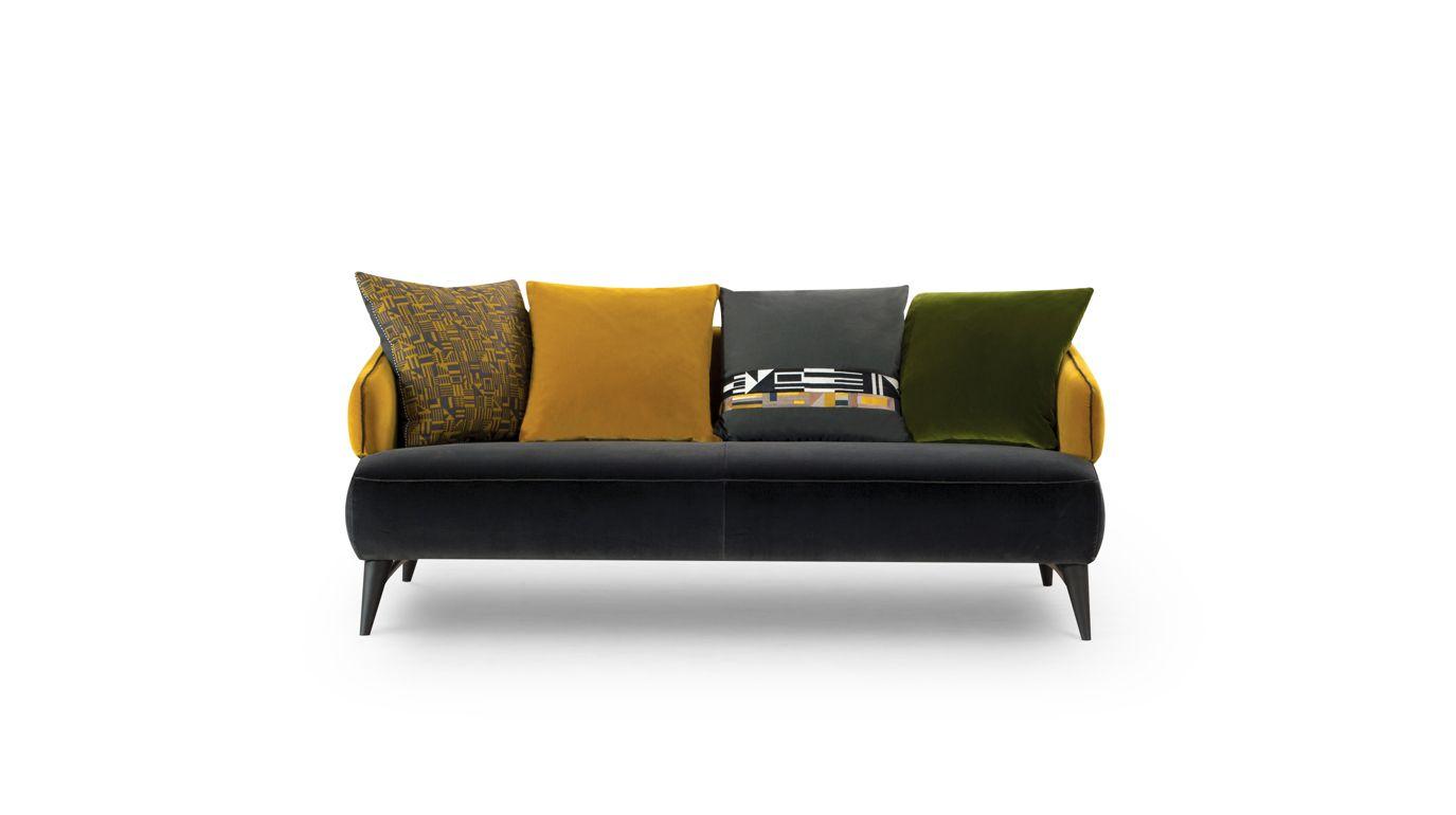 canap 2 5 places aries collection nouveaux classiques roche bobois. Black Bedroom Furniture Sets. Home Design Ideas