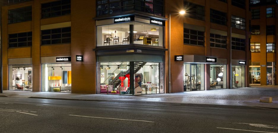 rendez vous magasin roche bobois manchester m4 5ag. Black Bedroom Furniture Sets. Home Design Ideas