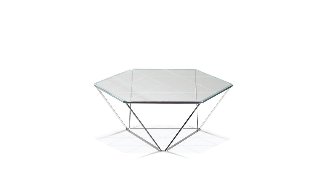 Diamond cocktail table roche bobois for Table basse roche bobois