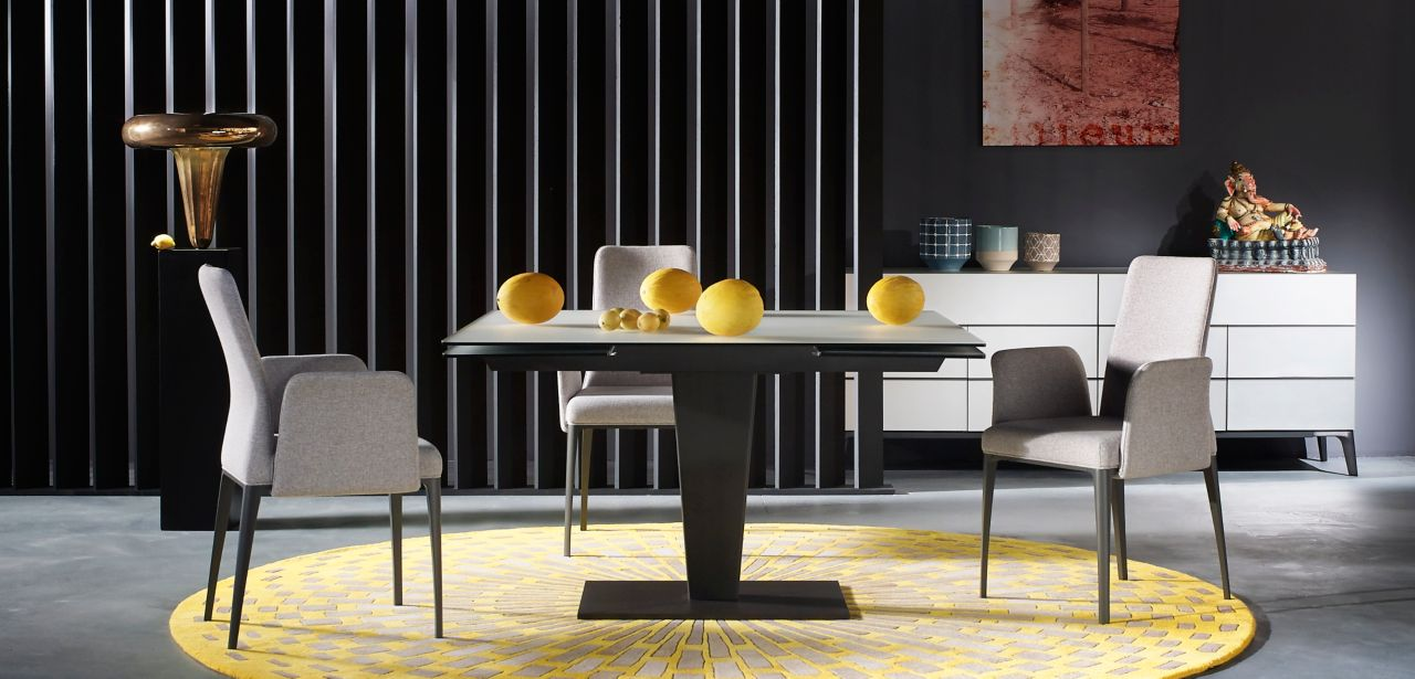 Osiris dining table roche bobois - Table salon roche bobois ...