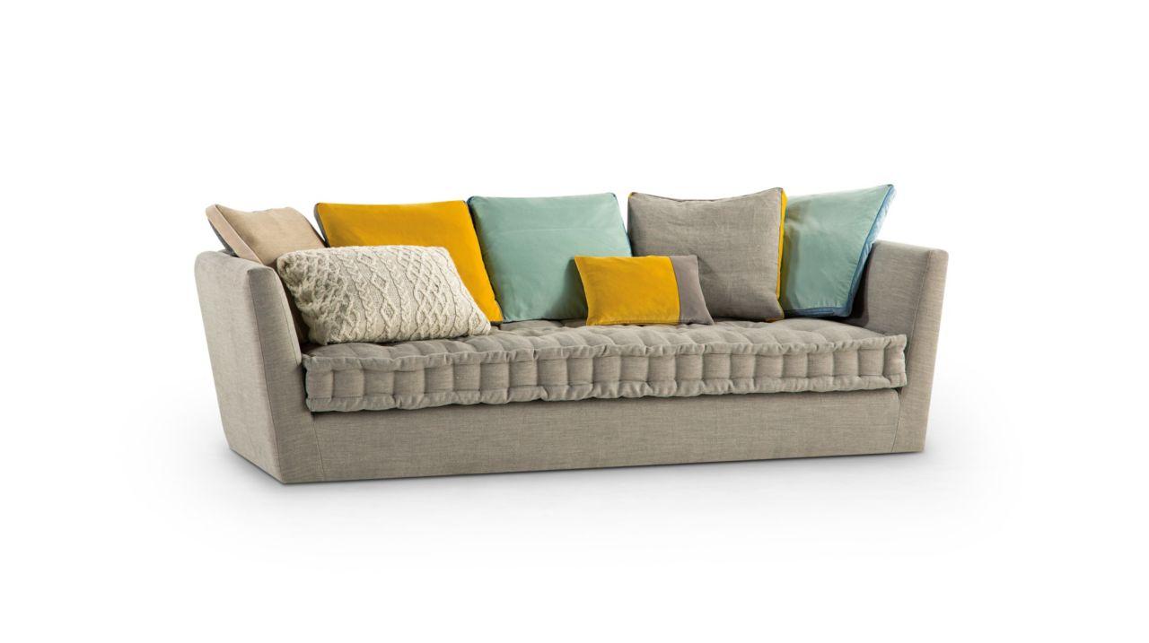 Carpe diem large 3 seat sofa nouveaux classiques collection roche bobois - Sofa rock en bobois ...