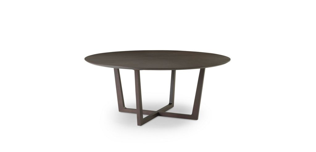 GOLD FIXED DINING TABLE Roche Bobois