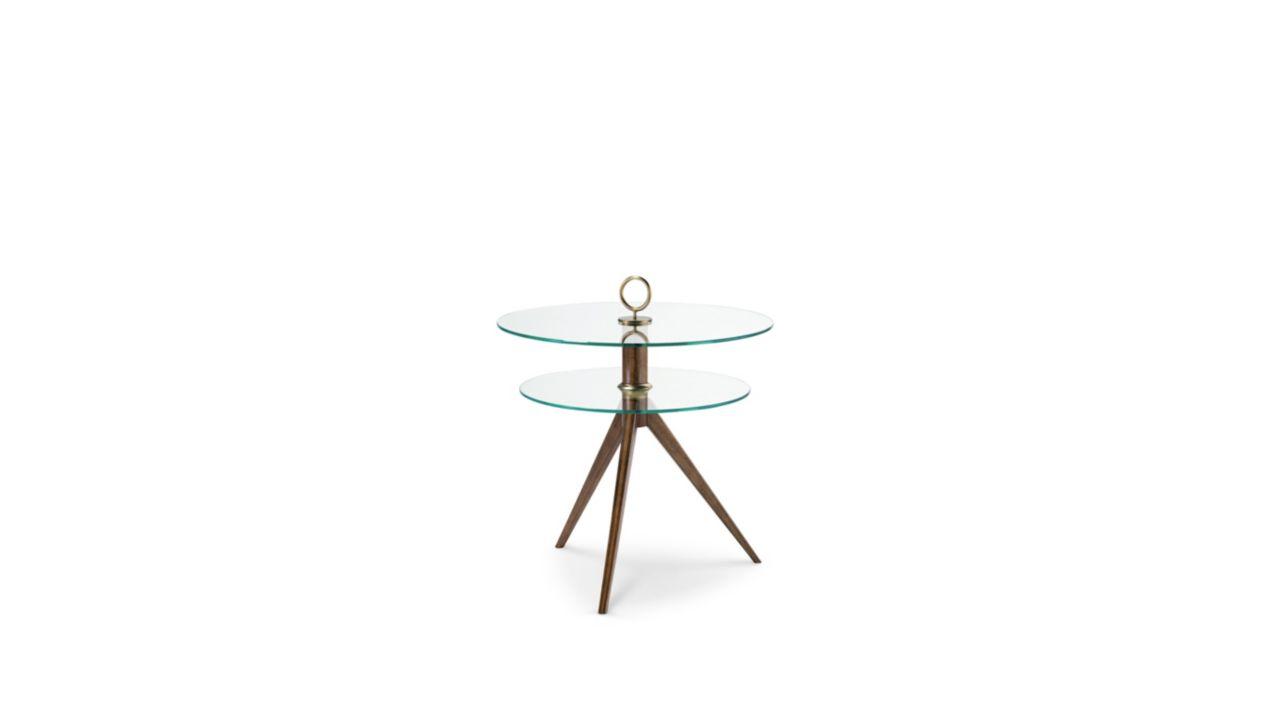 Reze round pedestal table nouveaux classiques collection roche bobois - Gueridon roche bobois ...