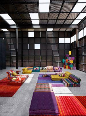 MAH JONG COMPOSITION Missoni Home  Roche Bobois -> Composition Mural Roche Bobois
