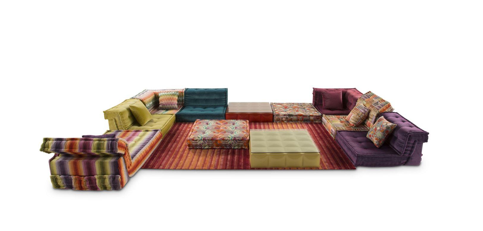 Mah jong sofa roche bobois - Canape composable mah jong ...