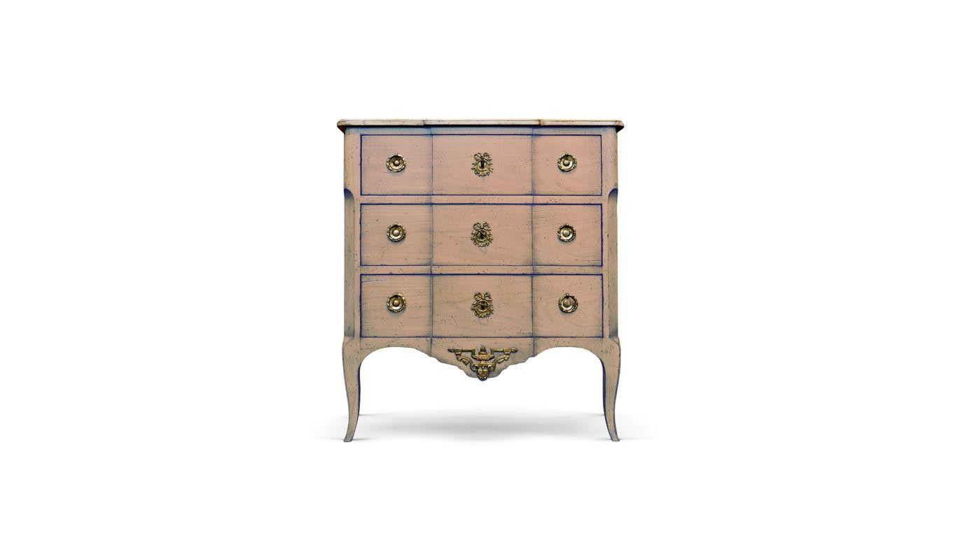 cassettone saxe collezione nouveaux classiques roche bobois. Black Bedroom Furniture Sets. Home Design Ideas