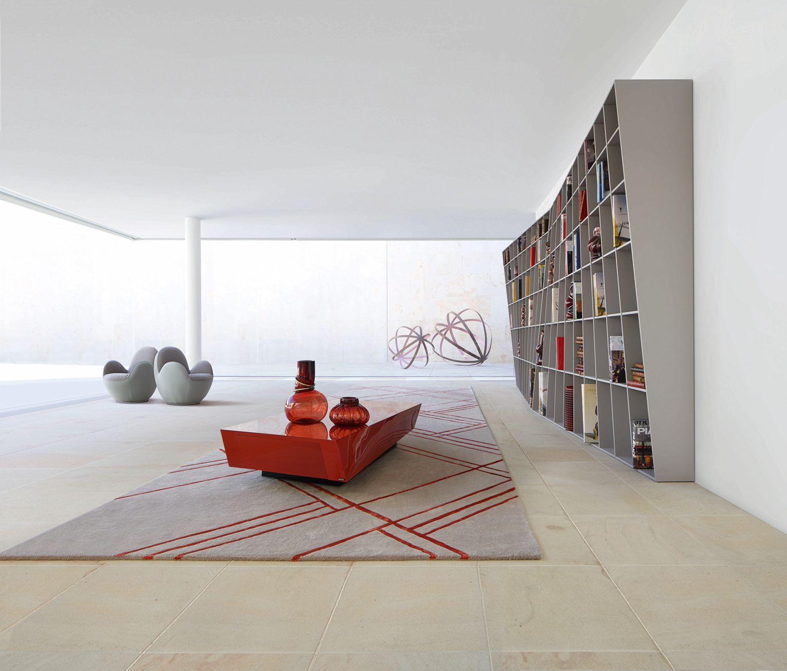 helis bookcase roche bobois. Black Bedroom Furniture Sets. Home Design Ideas