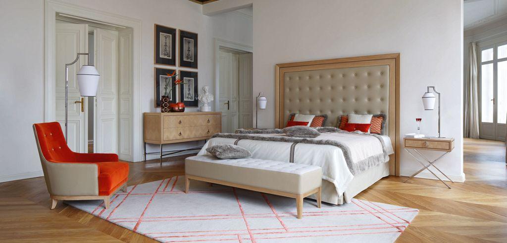 EPOQ BED (Nouveaux Classiques collection) - Roche Bobois