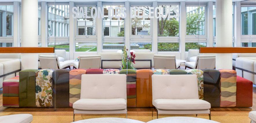 Roche Bobois Decorates The Delegates Lounge At Unesco S