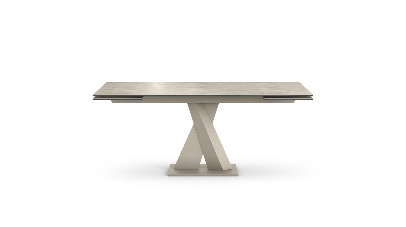 Axel ceramique dining table roche bobois for Table ceramique bois