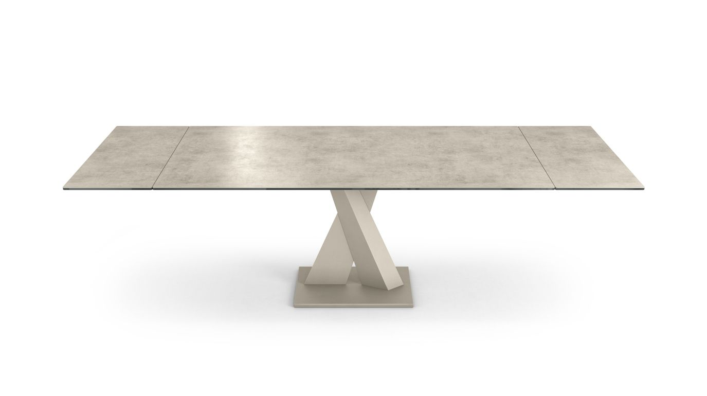 Table de repas axel ceramique roche bobois - Table basse ceramique design ...