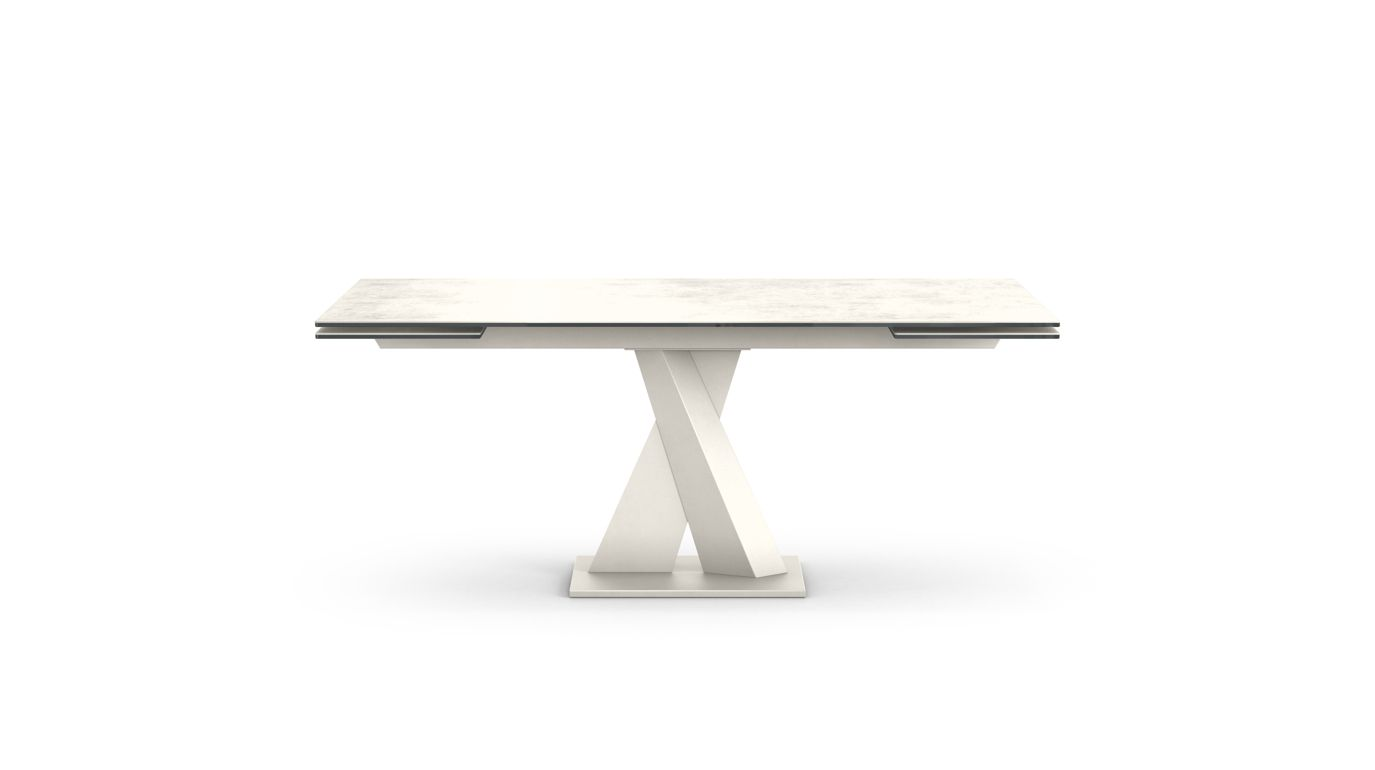 Axel ceramique dining table roche bobois - Table ovale marbre roche bobois ...