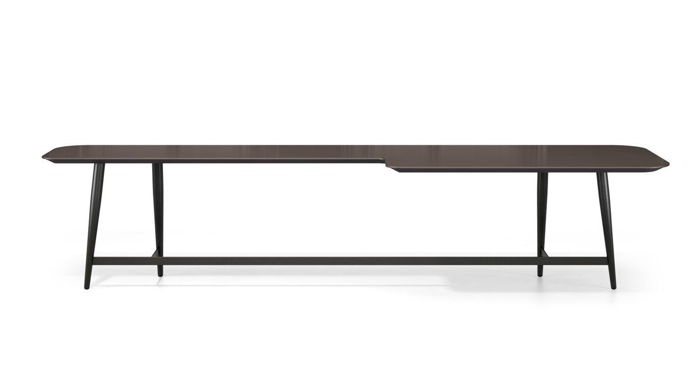 table basse rectangulaire en l octet roche bobois. Black Bedroom Furniture Sets. Home Design Ideas