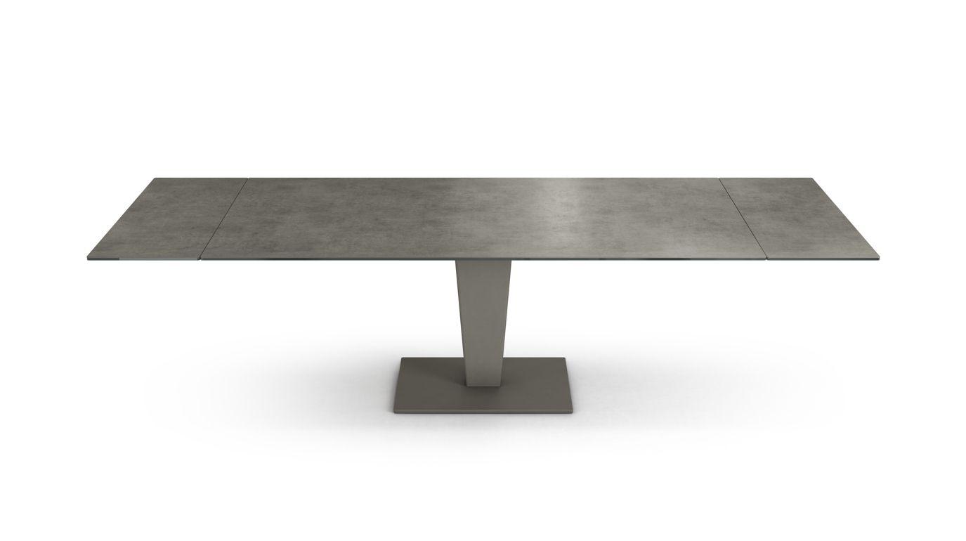 Table de repas axel ceramique roche bobois for Table exterieur ceramique
